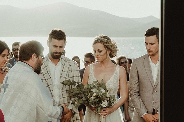 Ο πιο ρομαντικός φθινοπωρινός γάμος στην Αντίπαρο με μαγευτική θέα │ Βανέσσα & Γιάννης