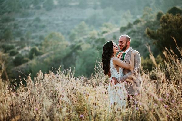 Όμορφος καλοκαιρινός γάμος με λευκά τριαντάφυλλα │ Κατερίνα & Φλώρος