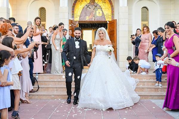 Gatsby καλοκαιρινός γάμος στην Λευκωσία με fairylights και κρυστάλλινες λεπτομέρειες │ Χριστίνα & Αντρέας