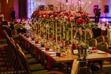 Glamorous centerpieces για εναν elegant μοντερνο γαμο