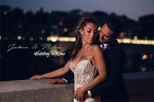 Ρομαντικό βίντεο φθινοπωρινού γάμου στην μαγευτική Ρώμη │ Μελίνα & Ιωακείμ