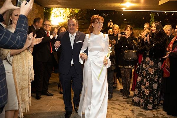 Ομορφος πολιτικος γαμος με chic υφος και γιορτινη ατμοσφαιρα | Ντενιζ & Παντελης