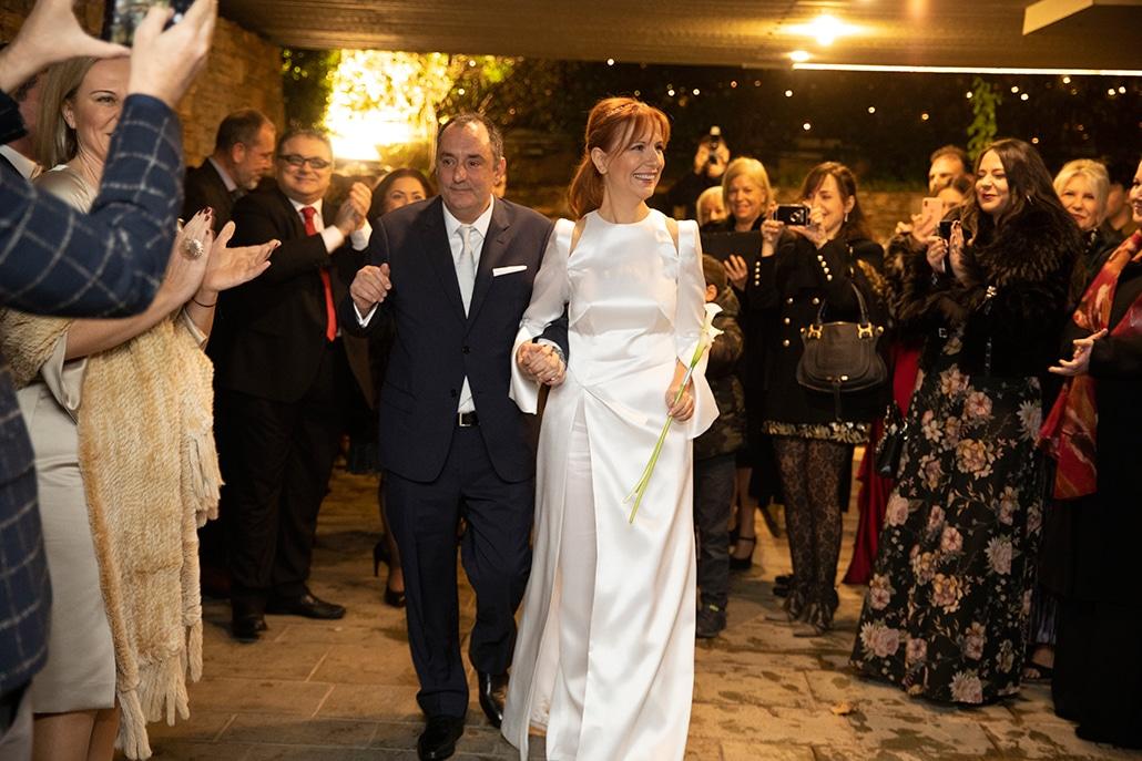 Όμορφος πολιτικός γάμος με chic ύφος και γιορτινή ατμόσφαιρα | Ντενίζ & Παντελής