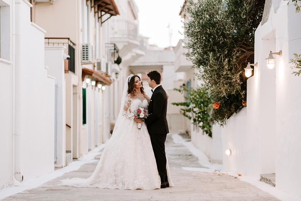 Πανέμορφος νησιώτικος γάμος στην Άνδρο με πινελιές του φούξια και του peach │ Ζάννα & Θεόφιλος