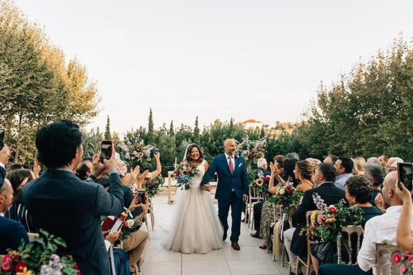 Πανέμορφος rustic garden style wedding στον Πύργο Πετρέζα│ Patricia & Νίκος