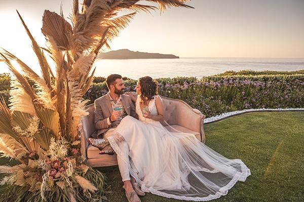 Πρωτότυπη ιδέα για τη δεξίωση του γάμου σας με lounge area
