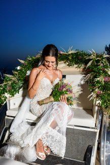 Πρωτότυπη ιδέα για στολισμό της άμαξας για την νύφη
