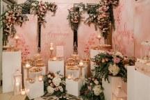 Ρομαντικος – elegant στολισμος dessert table για δεξιωση γαμου σε παστελ αποχρωσεις