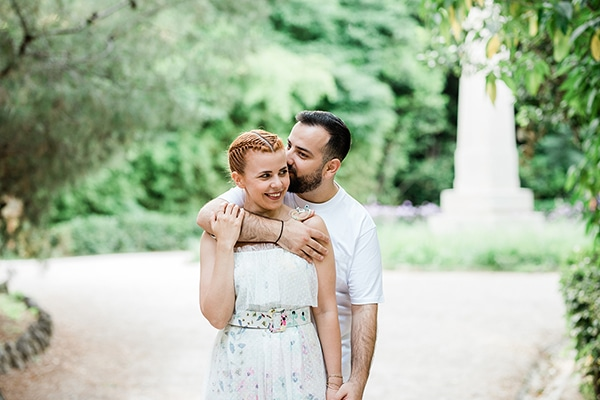 Ρομαντικη Next Day φωτογραφιση με θεα την ομορφια της φυσης και το γαλαζιο της θαλασσας│ Σπυριδουλα & Γιαννης