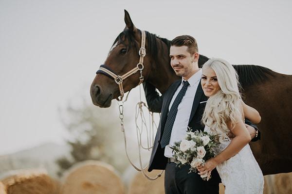 Πανέμορφος φθινοπωρινός γάμος στην Λευκωσία σε παστέλ αποχρώσεις │ Χαρά & Ηρακλής