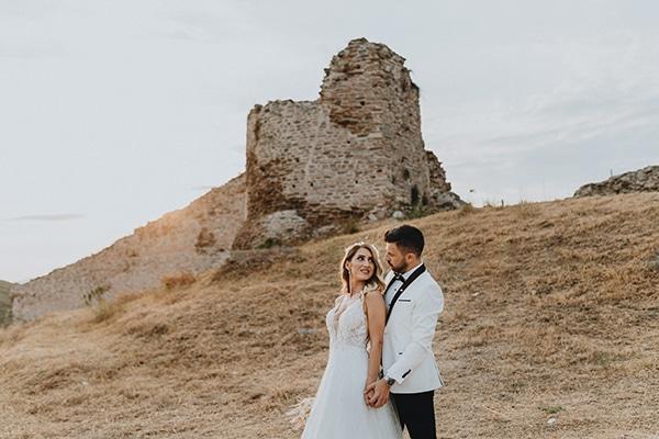 Bohemian καλοκαιρινος γαμος στην Ξανθη με pampas grass και david austin τριανταφυλλα │ Αθηνα & Μιχαλης