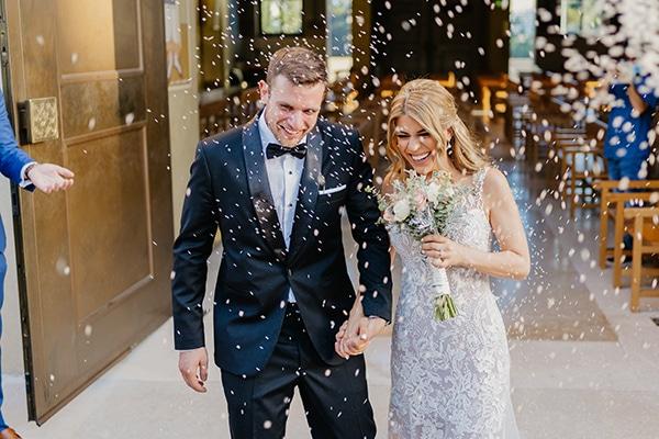 Φθινοπωρινός γάμος στην Αθήνα με elegant λεπτομέρειες│ Αντιγόνη & Γιώργος