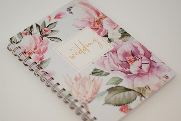 Τα πιο stylish wedding notebooks για την οργάνωση του γάμου σας