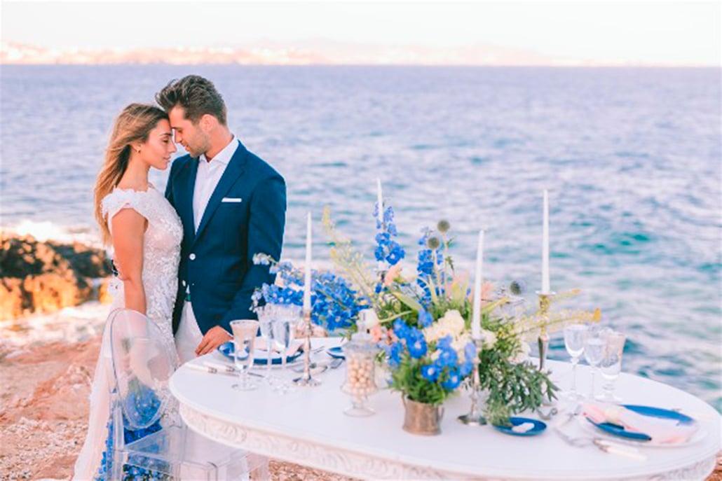 Ρομαντικό elopement στην Πάρο με κυκλαδίτικο άρωμα