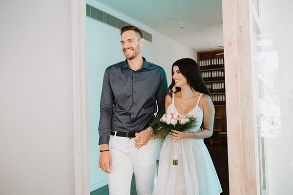 Καλοκαιρινος πολιτικος γαμος στη Λευκωσια│ Μυριελ & Παρης
