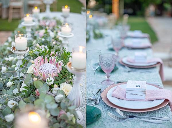 summer-wedding-pyrgos-petreza-protea-pink-mint-hues_13A