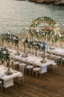 Εντυπωσιακή παραθαλάσσια τοποθεσία για δεξίωση γάμου στη Σίφνο