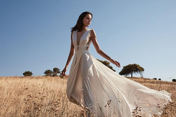 Αέρινα νυφικά φορέματα για ένα παραμυθένιο bridal look