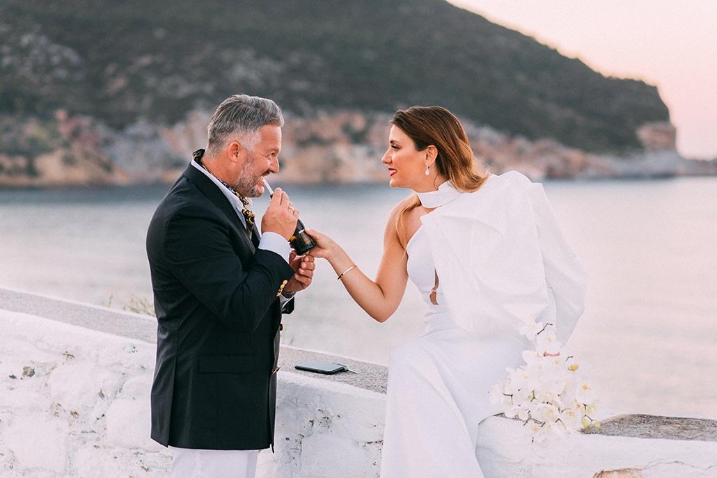 Πανέμορφος φθινοπωρινός γάμος στη Σκόπελο │ Ειρήνη & Ζήνων
