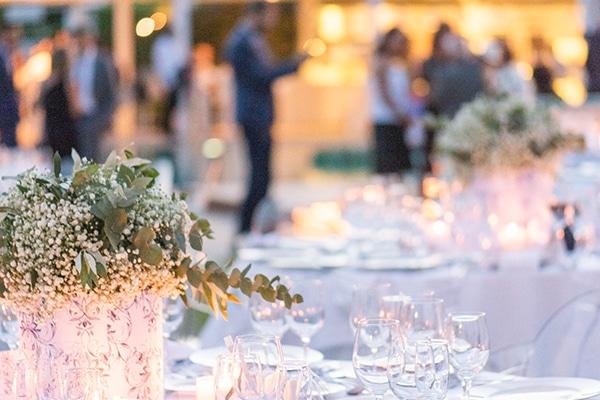 Πανέμορφος γάμος –  βάπτιση στην Αθήνα με γυψοφύλλη και μπλε ορτανσίες │ Λένα & Λεωνίδας