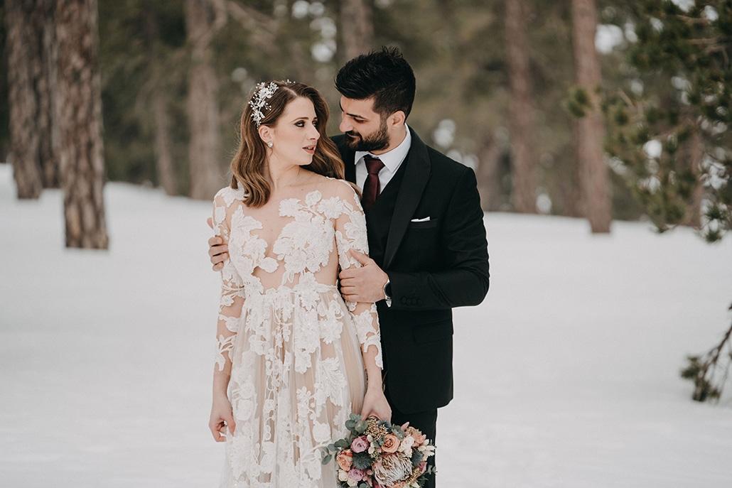 Υπέροχος χειμωνιάτικος γάμος στη Λάρνακα με ζεστές αποχρώσεις │ Ιωάννα & Βασίλης