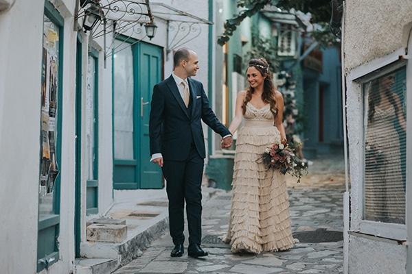 Μποέμ καλοκαιρινός γάμος στην Πρέβεζα│ Κάτια & Άγγελος
