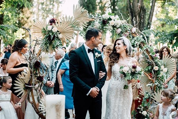Ιδέες διακόσμησης γάμου με αποξηραμένα λουλούδια