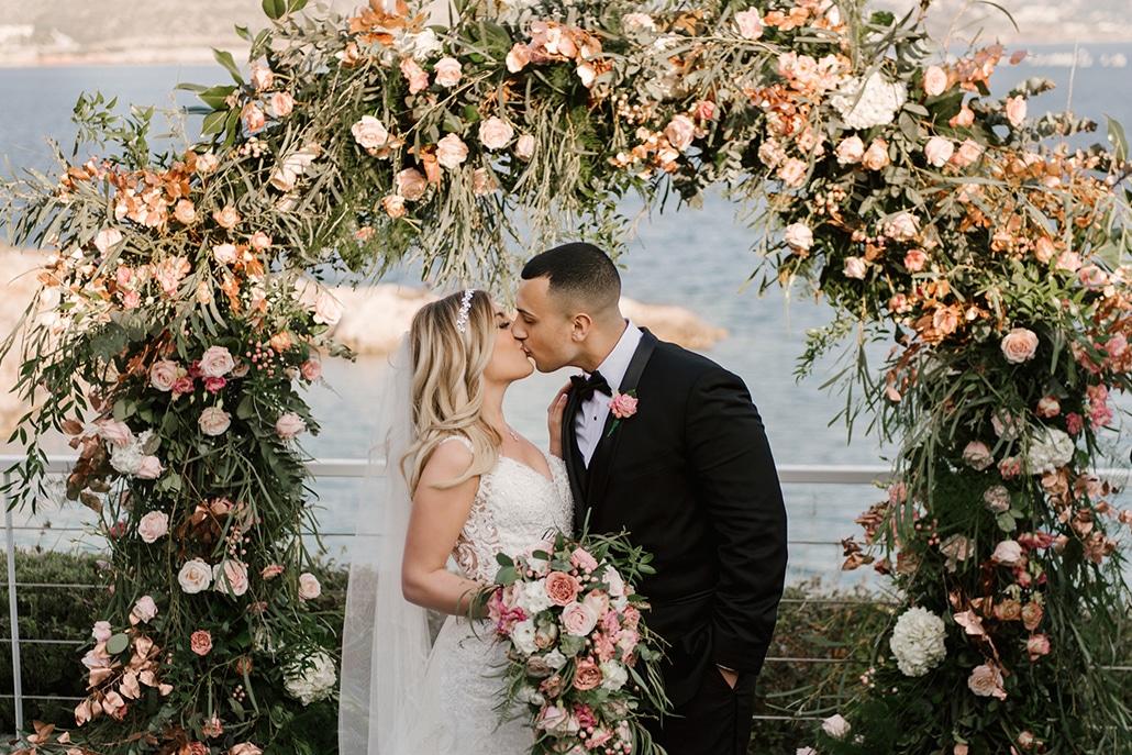 Glamorous γάμος στην Αθήνα με τις πιο elegant – romantic λεπτομέρειες │ Nikki & Omar