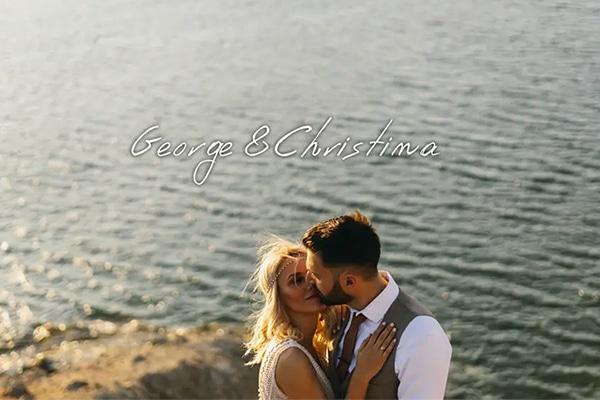 Ρομαντικό βίντεο καλοκαιρινόυ γάμου με boho στοιχεία | Χριστίνα & Γιώργος