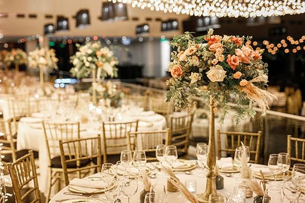 Εντυπωσιακές ιδέες διακόσμησης για έναν bohemian γάμο με χρυσές λεπτομέρειες