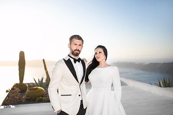 Stylish καλοκαιρινός γάμος στην Καβάλα με μαγευτική θέα και elegant λεπτομέρειες │ Μαρία & Βαγγέλης