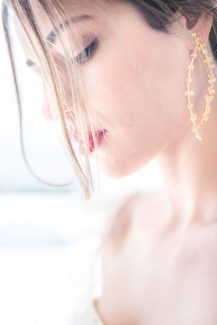 Elegant χρυσα σκουλαρικια