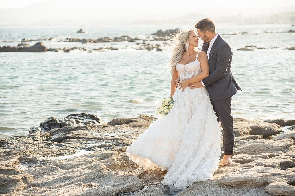 Όμορφος καλοκαιρινός γάμος στην Ρόδο με ελιά και λευκά άνθη │ Μαρία & Βασίλης