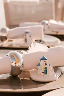 Μπομπονιέρα – εκκλησάκι για νησιώτικο γάμο