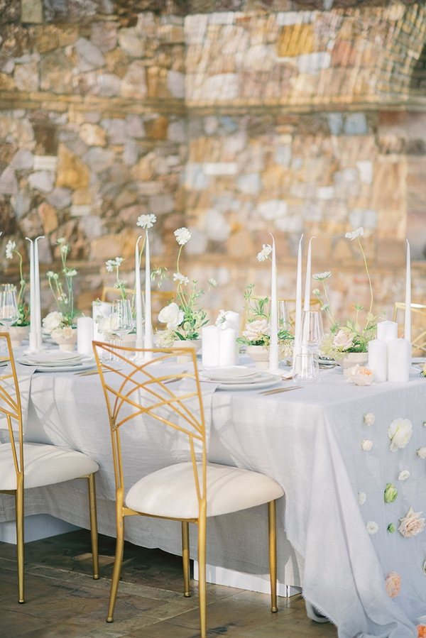 Elegant – ρομαντικος στολισμος δεξιωσης για εναν outdoor wedding