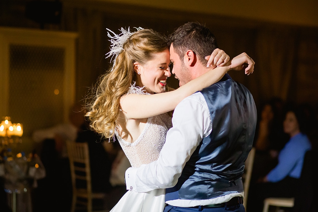 Υπέροχος χειμωνιάτικος γάμος με την πιο γιορτινή διάθεση │ Ράνια & Αλέξανδρος