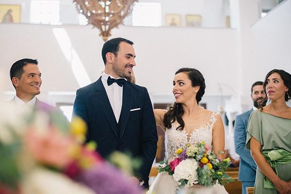 Καλοκαιρινός γάμος στην Αθήνα με πανέμορφο ανθοστολισμό │ Λίνα & Γιάννης