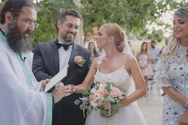 Καλοκαιρινός γάμος στην Αθήνα σε παστέλ αποχρώσεις │ Γεωργία  & Άλεξ