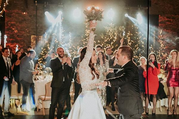 Χειμωνιάτικος γάμος με την πιο glamorous festive διακόσμηση │ Αντιγόνη & Γιάννης