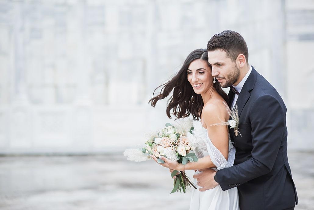 Υπέροχος φθινοπωρινός γάμος στο Ξυλόκαστρο με μποέμ λεπτομέρειες │ Μαρία & Κώστας
