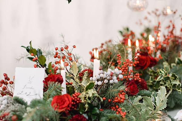 Holiday inspired shoot with gorgeous details