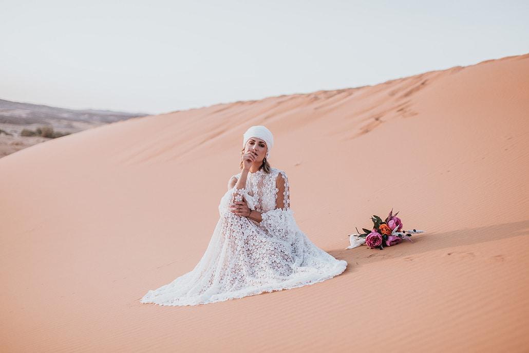Ρομαντικό styled shoot στην έρημο με ανατολίτικες επιρροές