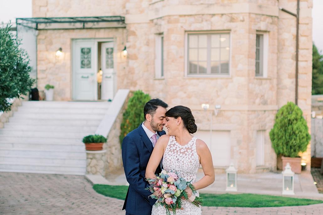 Ρομαντικός καλοκαιρινός γάμος στην Αθήνα σε παστέλ αποχρώσεις │ Βάγια & Ευγένιος