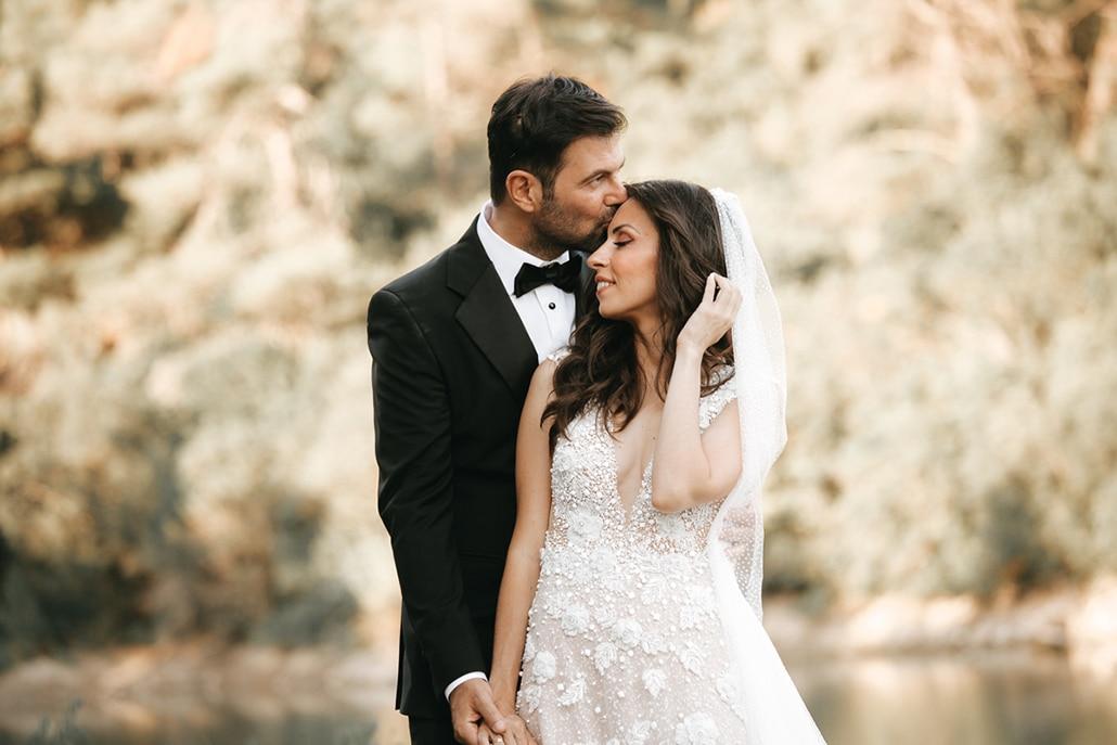 Ρομαντικός καλοκαιρινός γάμος στην Αθήνα με πανέμορφο ανθοστολισμό │  Δήμητρα & Αναστάσιος