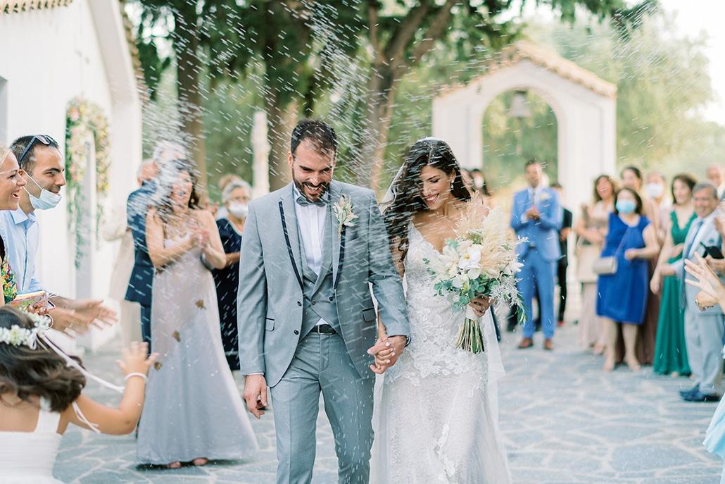 Καλοκαιρινός γάμος στην Αθήνα με πανέμορφο ανθοστολισμό │ Γεωργία & Βασίλης