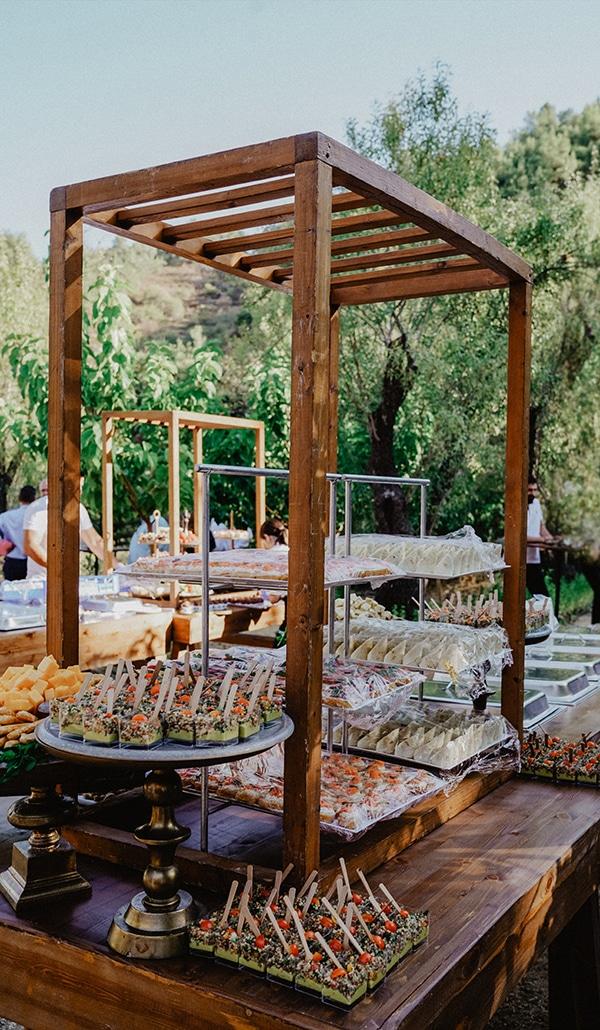 Πρωτότυπη ιδέα για dessert table γάμου