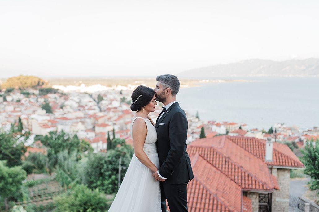 Όμορφος καλοκαιρινός γάμος στην Πάτρα με ρομαντική ατμόσφαιρα │ Αλεξία & Πολύδωρος