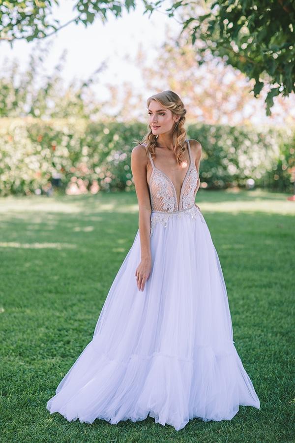 πολιτικος γαμος φορεμα