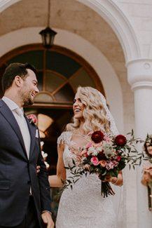 Νυφική ανθοδέσμη για έναν μοντέρνο γάμο
