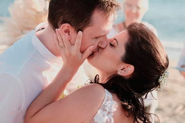 Ρομαντικός καλοκαιρινός γάμος στη Νάξο με bohο λεπτομέρειες │Αναστασία & Νότης